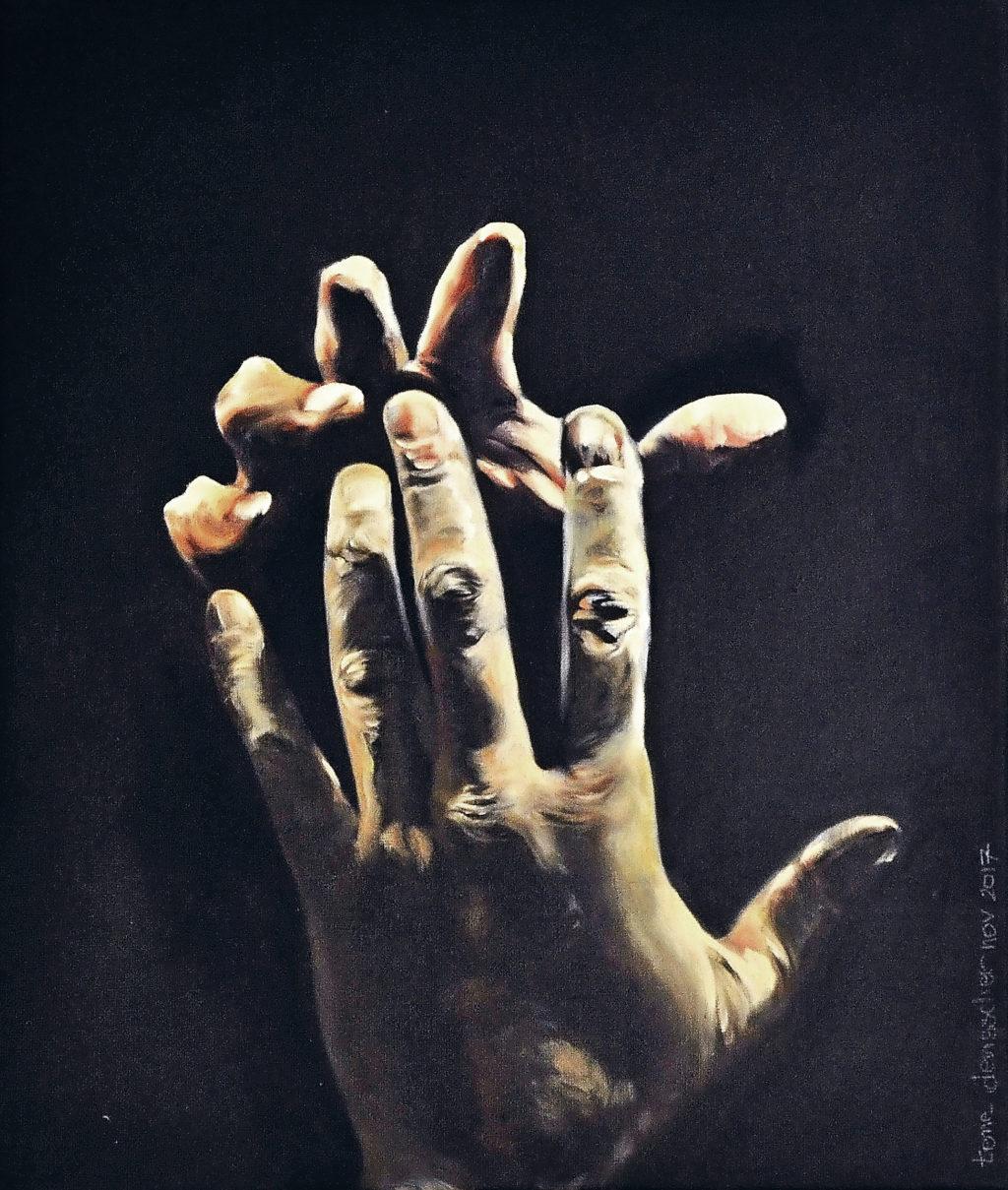 Figuur 1 Handenpaar